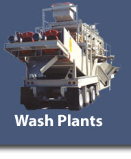High Production Wash Plants